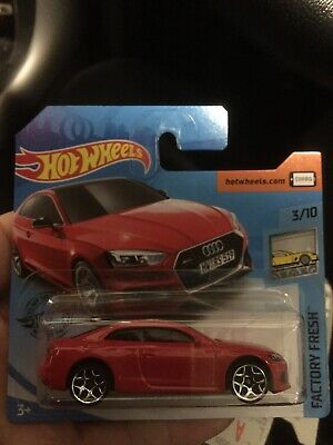 2019 Hotwheels  Audi Rs 5 Coupe -Brand New