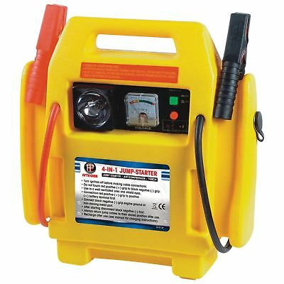 4 In 1 Portable Jump Start 12v  Air Compressor Battery Start Booster Charger