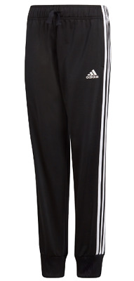 Adidas Essential Girls Tracksuit Bottoms Joggers Track Pants Black Age  7-8  *34