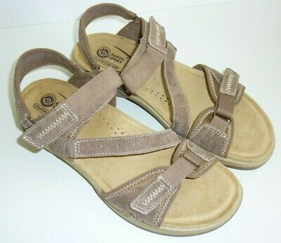 Earth Spirit Frisco Sz 10 Womens Ladies Leather Sports Walking Sandals Shoes