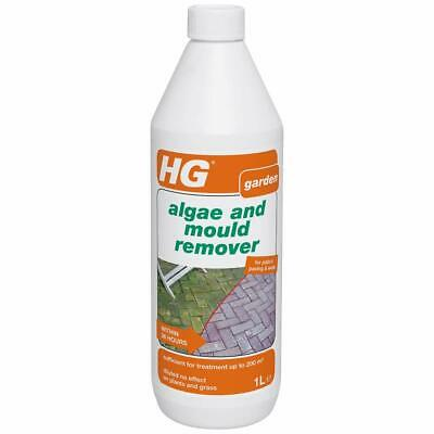 HG Algae & Mould Remover 1L – Concentrated Algea & Mould Remover For Patios