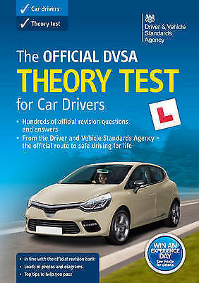 Theory Test-Car Drivers Book for 2019 Official DVSA Driving Theory Tests - £11!
