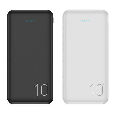 Portable Universal 10000mAh 2 USB External Power Bank Battery Charger for Phone