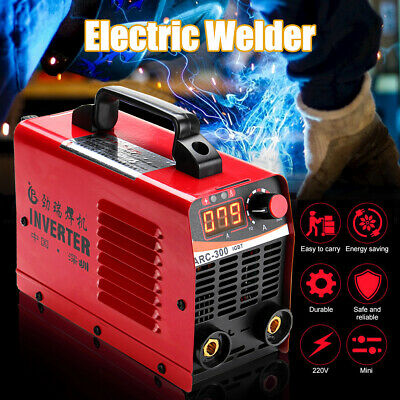 10A-300AMP Digital Welding Inverter Machine MMA ARC Houshold ARC-300 Welder IGBT