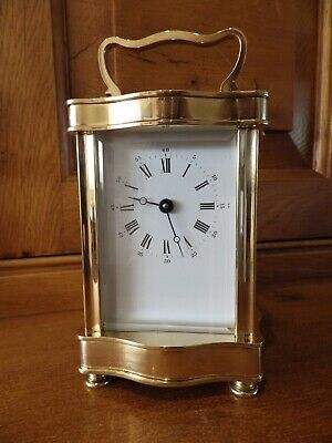 L Epee Serpentine Case style carriage Clock In New Old Stock Condition Stunning