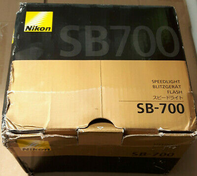 Nikon Speedlight SB-700 Shoe Mount Flash in Box (never used)