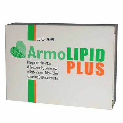 3 Scatole ARMOLIPID PLUS INTEGRATORE COLESTEROLO 60 COMPRESSE