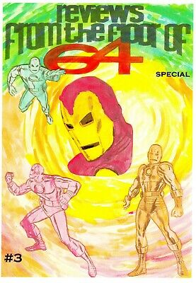 Past Perfect Christmas Special #3 Fantastic Annual 1969 Johnny Future Iron Man