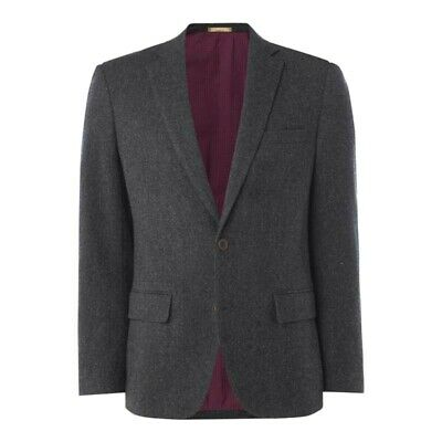 Howick House Of Fraser Lincoln Donegal Grey Coat Blazer Jacket Mens 38R *REF86