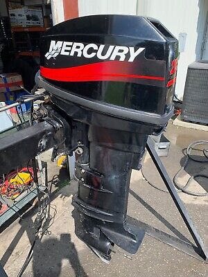 MERCURY 20HP OUTBOARD Electric Start Carb Tiller 15