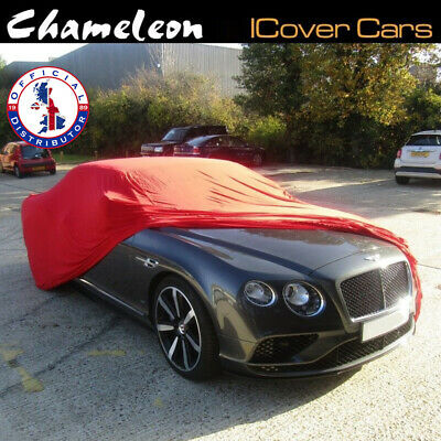 Indoor Car Cover SMALL Premium  Red Super Soft breathable fabric 160gsm