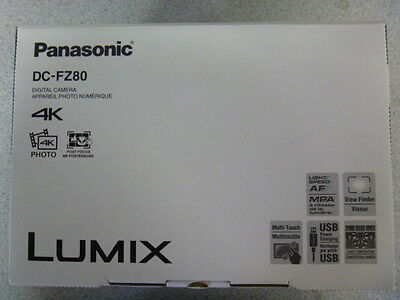 Panasonic Lumix 4K DC-FZ80 (Black)