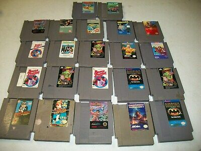 Lot of 22 NES, Nintendo Games Untested