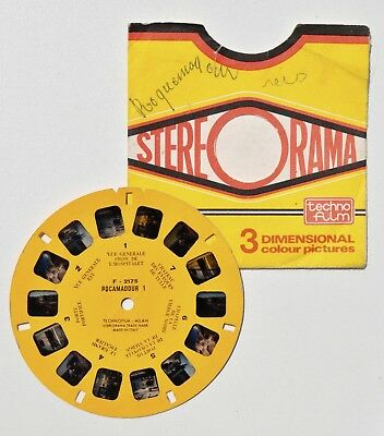 Stereorama compatible View-Master : ROCAMADOUR disque n° 1