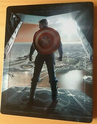 Captain America The Return Of The First Avenger Steelbook auf Blu Ray Marvel
