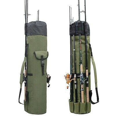 Fishing Bag Fishing Rod Reel Case Carrier Holder Fishing Pole Storage Bags Fishi