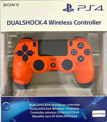 Sony PlayStation 4 Ps4 Dualshock4 Wireless Controller V2 Sunset ORANGE NEU