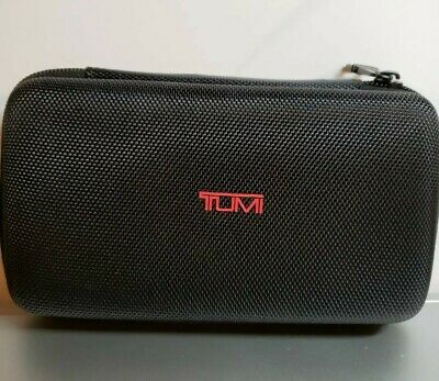 DELTA airlines First Class TUMI Soft Case Amenity Kit Black Case only