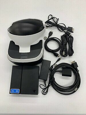 Sony PlayStation VR Headset CUH-ZVR1 Bundle Great Condition