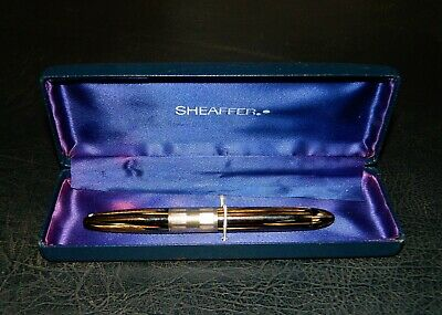 Scarce Vintage Sheaffer White Dot Lifetime Fountain Pen With Case