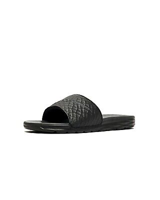 Nike Men's Benassi Solarsoft Sandals, Black/Anthracite-Different Sizes Available