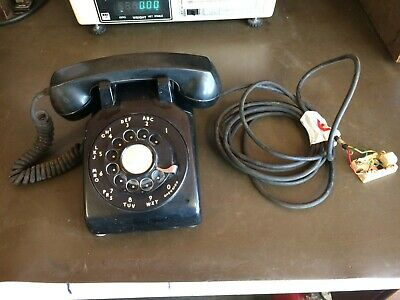 Vintage Bell System Western Electronic 500 MM Rotary Dial Desk Phone *6c