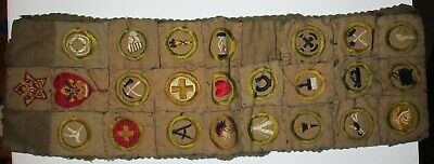 1917-1922 Boy Scout Merit Patch & MORE - Scoutmaster Carl Zillig Troop 3 Atlanta