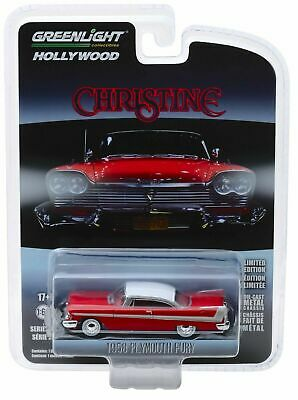 "1958 Plymouth Fury "" CHRISTINE ""  Film Auto *** Greenlight 1:64 OVP"
