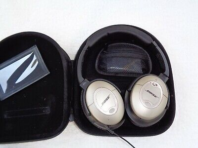 Bose Acoustic Noise Cancelling Headphones model QC-2.