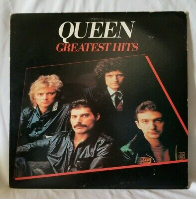 Queen Greatest Hits 1981 Warner Bros.- Elektra 5E 564 Sp Vinyl Lp