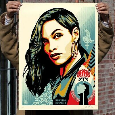 Shepard Fairey - Obey - Power & Equality : FLOWER - 2019  - Ed 400