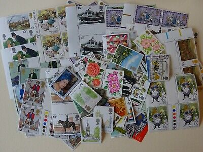 GB mint stamps for postage - £25.00 face value - full gum...(15)