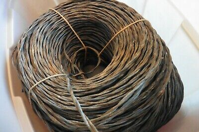 Vintage Western Electric Cloth Wire Bell System stranded twisted 16/2 50 feet