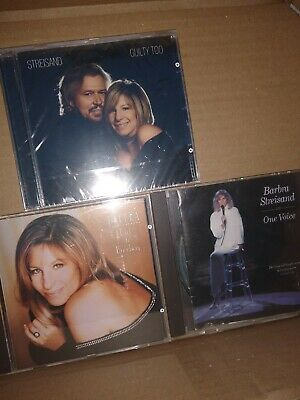 Barbra Streisand : Guilty Too CD (2005)  sealed+ two others.