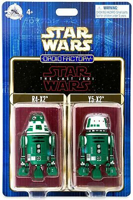 Disney Parks Star Wars The Last Jedi Astromech Droid Factory 2 Pack R4-X2 Y5-X2