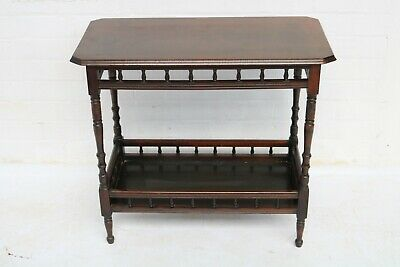Antique Victorian Mahogany Side Table  Good Condition !!!