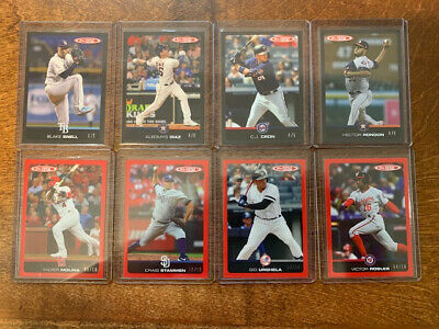 2019 Topps Total Waves 1, 2 & 3 Red & Black Parallels SP Cards! You Pick!