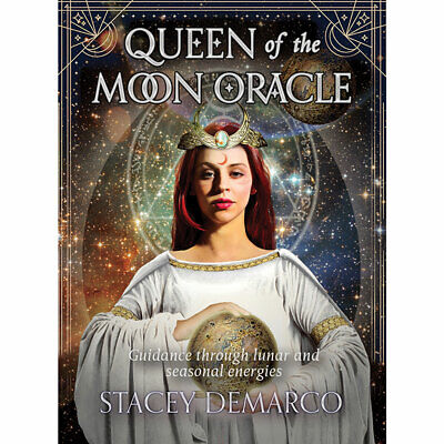 Queen of the Moon Oracle Deck w/ Booklet by Stacey Demarco (2018) Lunar Cards