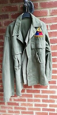 us army ww2 - veste HBT 2° armored division