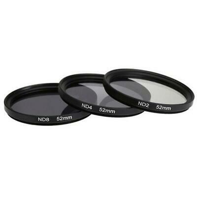 52-77mm UV CPL FLD Graduated Color ND4 Lens Filter for Canon Nikon Sony Kit Set