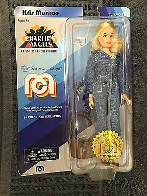 """Kris Munroe Charlie/'s Angels 8/"""" MEGO Classic Action Figure Re-Issue"""
