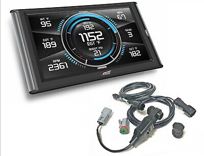 EDGE INSIGHT CTS2 Gauge Monitor for 2001-2019 Chevrolet GMC 6 6L