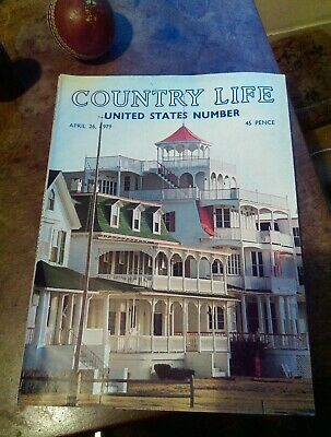 Country Life Magazine United States Number April 26 1979 vintage, original