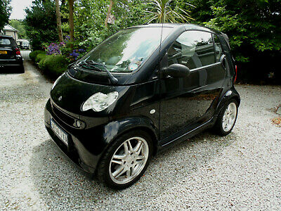 2004 (54) SMART FORTWO BRABUS CABRIOLET, Just 41000 miles, FSH, Lady Owner
