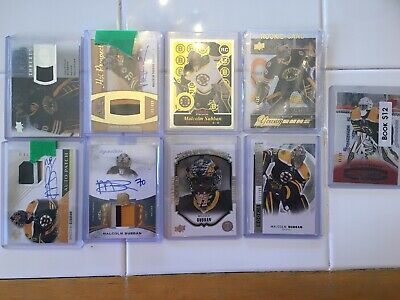 Huge lot 9 Rookie Cards Malcolm Subban 2015-16 Exclusives FWA The Cup Platinum