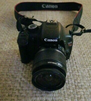 Canon EOS Rebel T2i / EOS 550D 18.0MP Digital SLR Camera - with EFS 18-55mm Lens