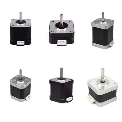 42 Stepper Motor NEMA 17 Motor 23/28/34/40/46/48/60mm for Reprap 3D Printer CNC