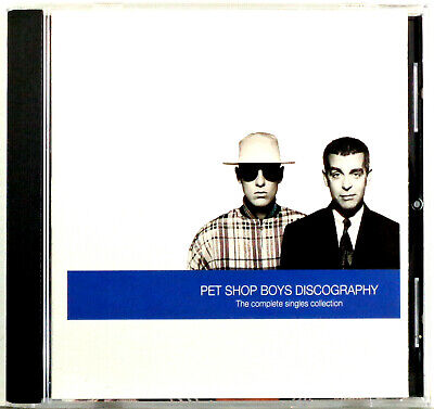 Pet Shop Boys - Discography (The Complete Singles Collection) 1990 EMI USA CD Ex