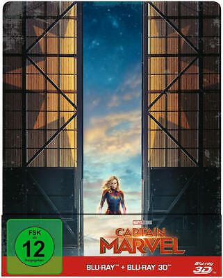 Coppenrath Captain Marvel Limited Steelbook (BLU-RAY 3D/2D)
