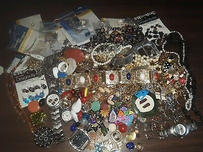 Moms Junk Drawer Jewelry lot.... selling items to raise money for my dads funera